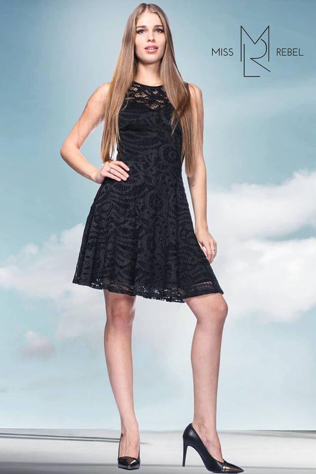 MR045 Dorka cs.ruha fekete