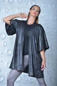 ATLANTA Kimono+öv fekete
