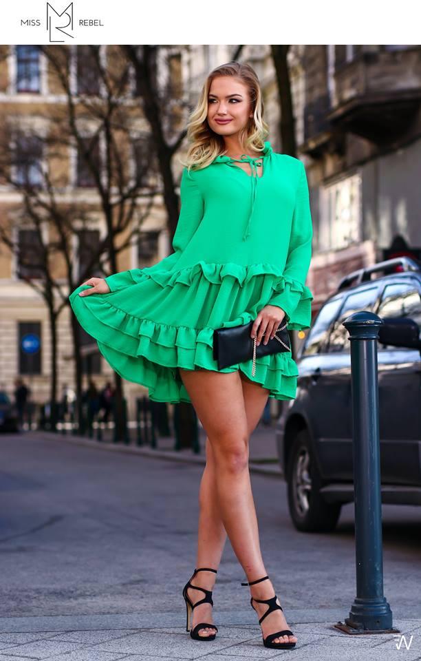 Anna ruha zöld